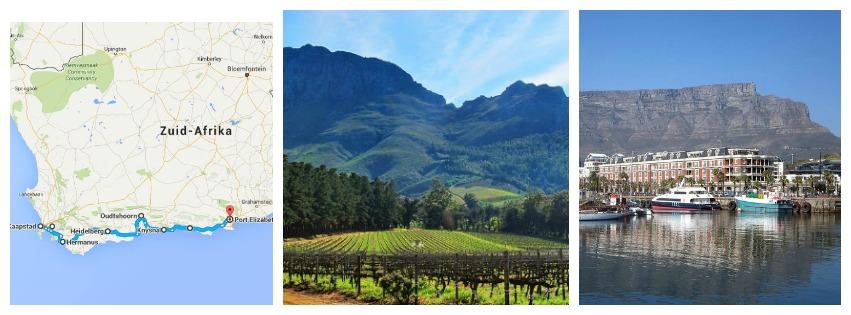 PicMonkey Collage Kaapstad & Tuinroute